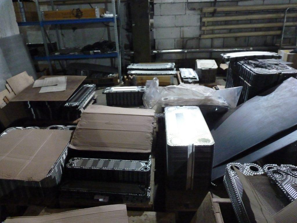 Комплектующие теплообменников для сервисных компаний