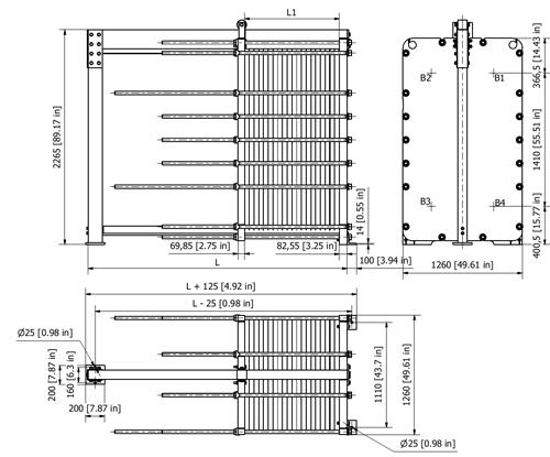 Схема теплообменника S145