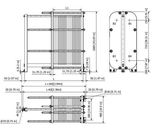 Схема теплообменника S22