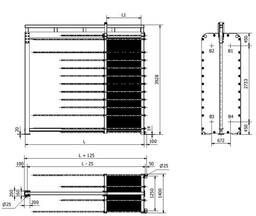 Схема теплообменника S300