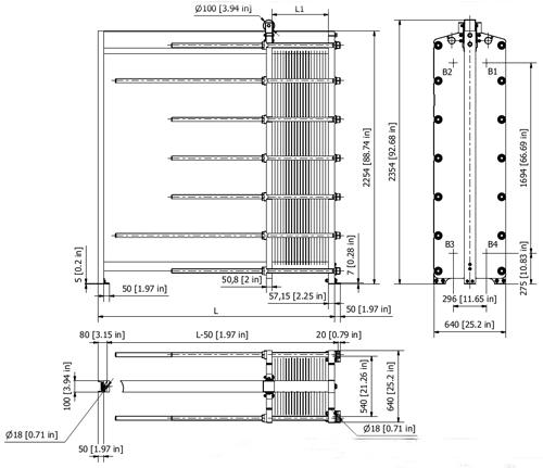 Схема теплообменника S86