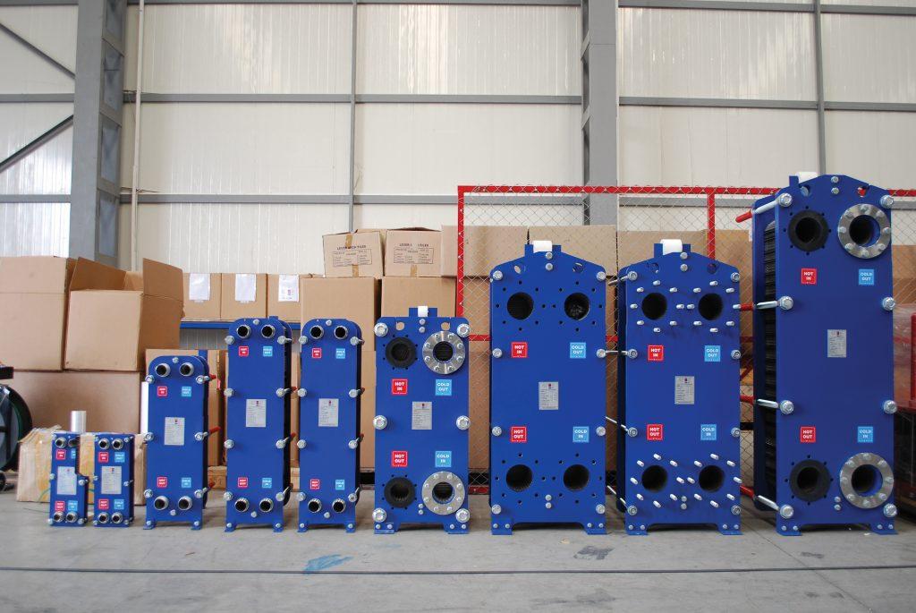 Производство пластинчатых теплообменных аппаратов Ares phe