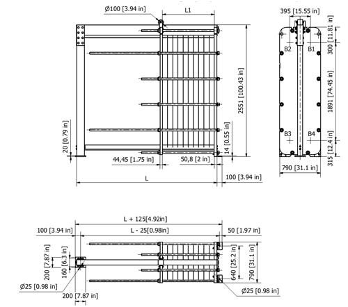 Схема теплообменника S130