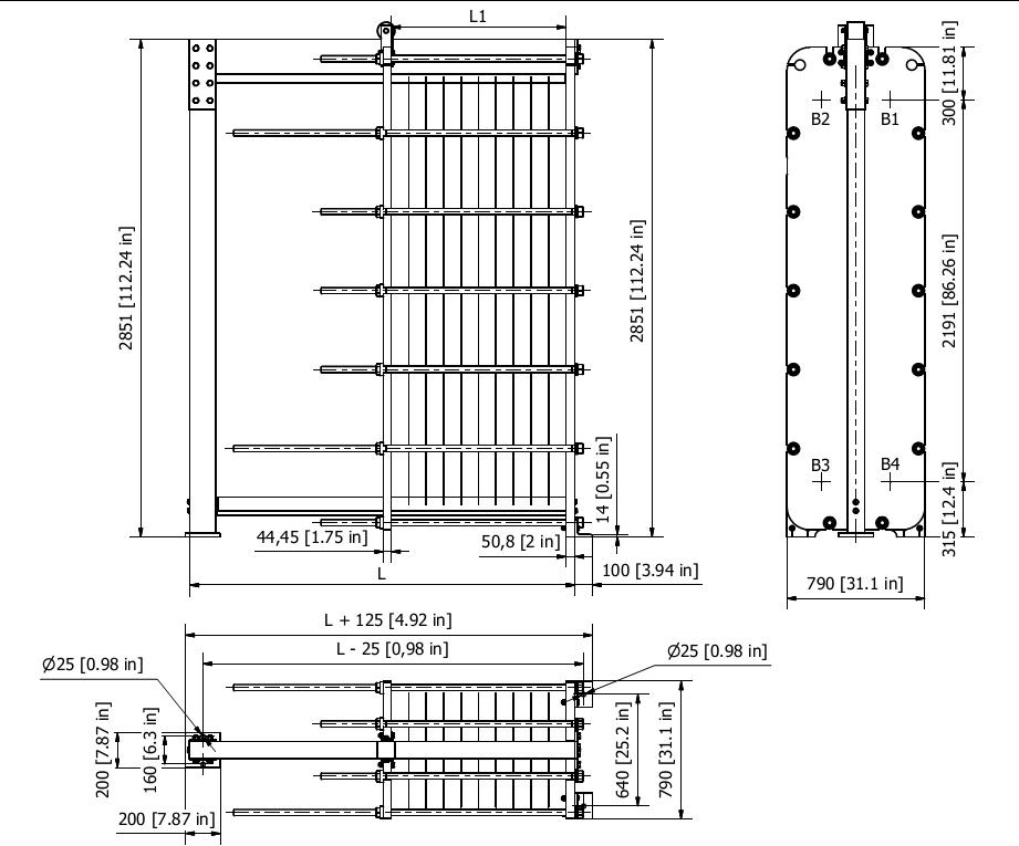 Схема теплообменника S152