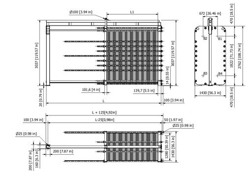 Схема теплообменника S201