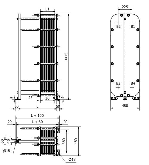 Схема теплообменника S36