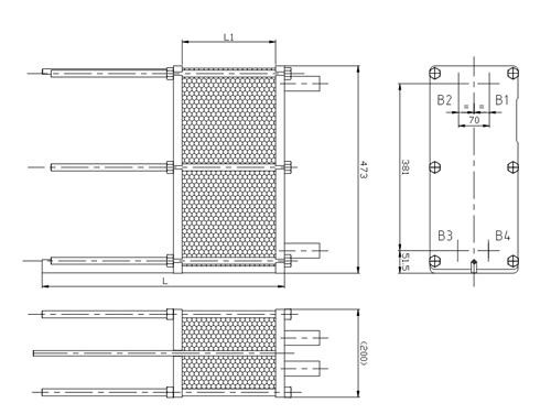 Схема теплообменника S4A