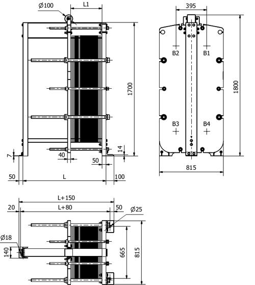 Схема теплообменника S65