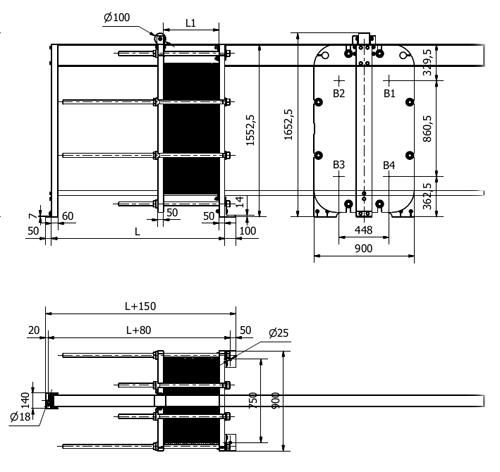 Схема теплообменника S67