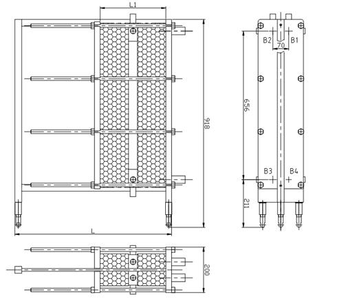 Схема теплообменника S8A